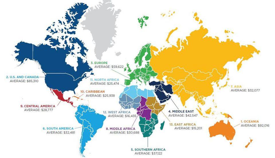 competenze IT nel mondo